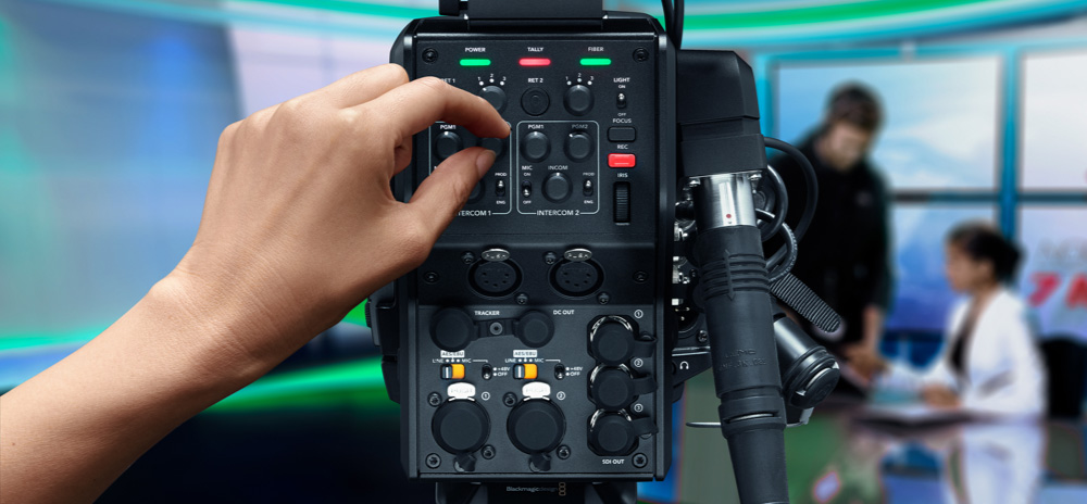 Add Studio Camera Controls